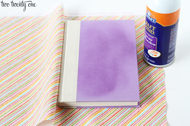 DIY Cheap And Creative Fabric Covered Books (1)