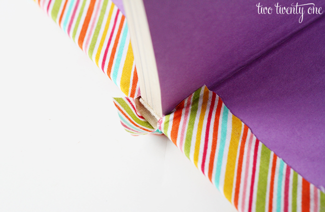DIY Cheap And Creative Fabric Covered Books (6)