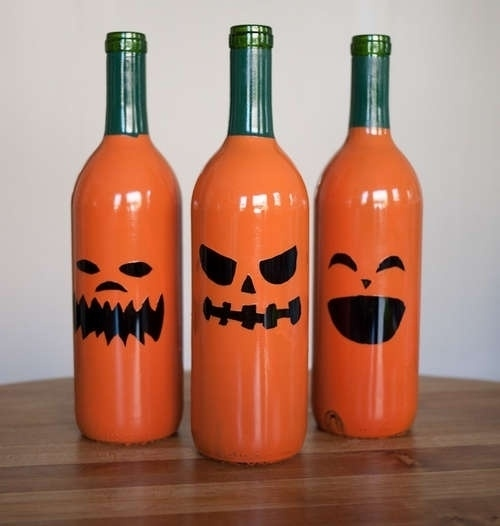Beer Bottle Decoration Amusing 40 Diy Ideas On How To Transform Empty Wine Bottles Into Useful Items Design Inspiration