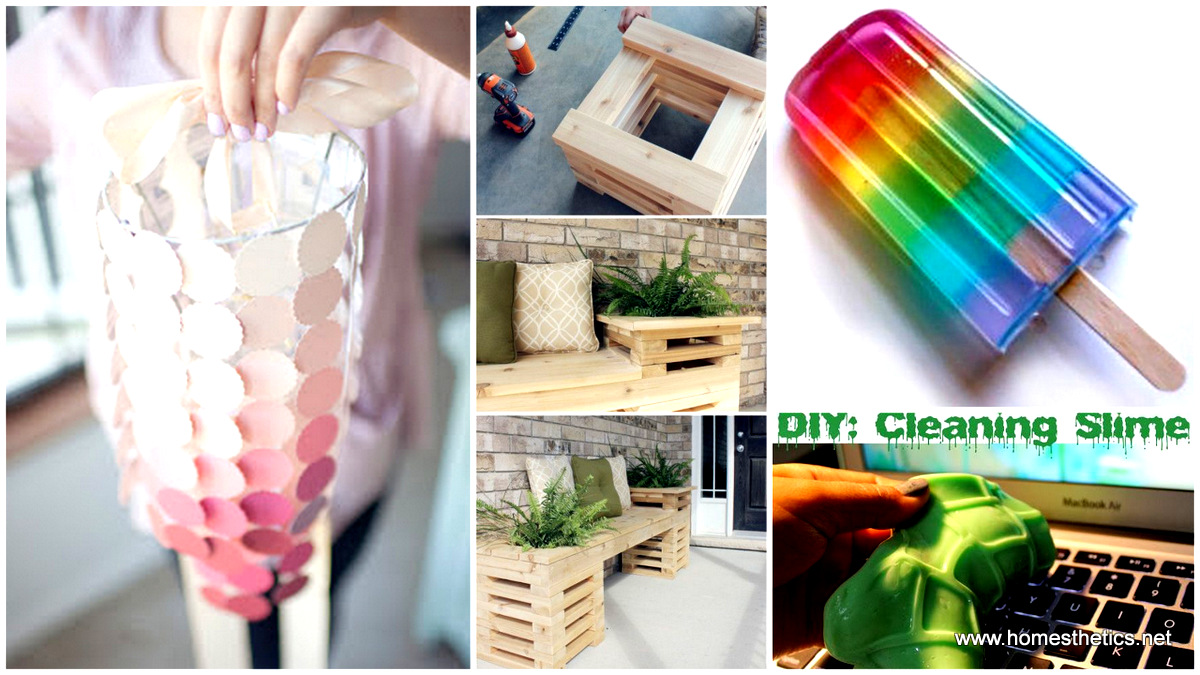 Fun easy diys to do at home diy do it your self for Simple handicraft project
