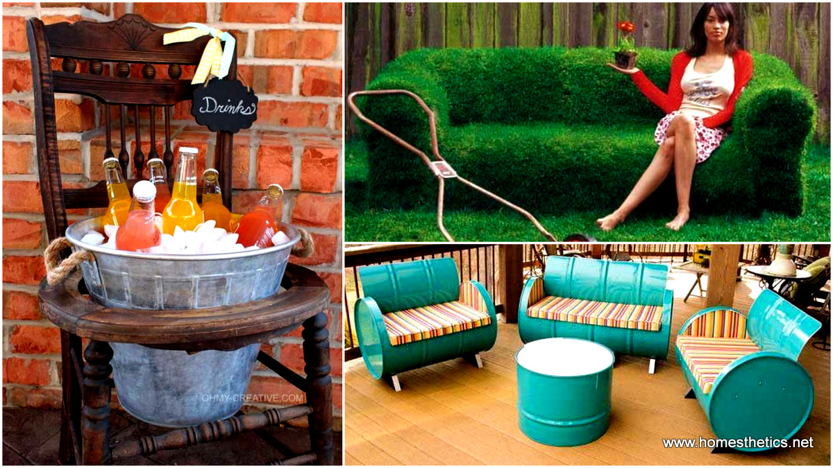 Creative diy furniture ideas Bedroom Furniture 37 Insanely Creative Diy Backyard Furniture Ideas That Everyone Should Pursue Homesthetics 37 Insanely Creative Diy Backyard Furniture Ideas That Everyone