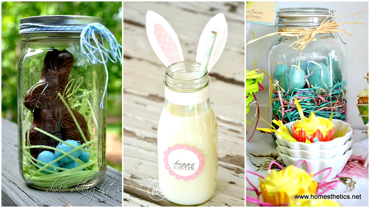 DIY Easter Mason Jars Crafts To Try This Spring