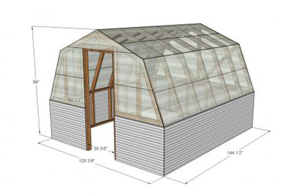 Learn How to Build a Green House With This 7 Tutorials and Transform Your Backyard homesthetics decor (3)
