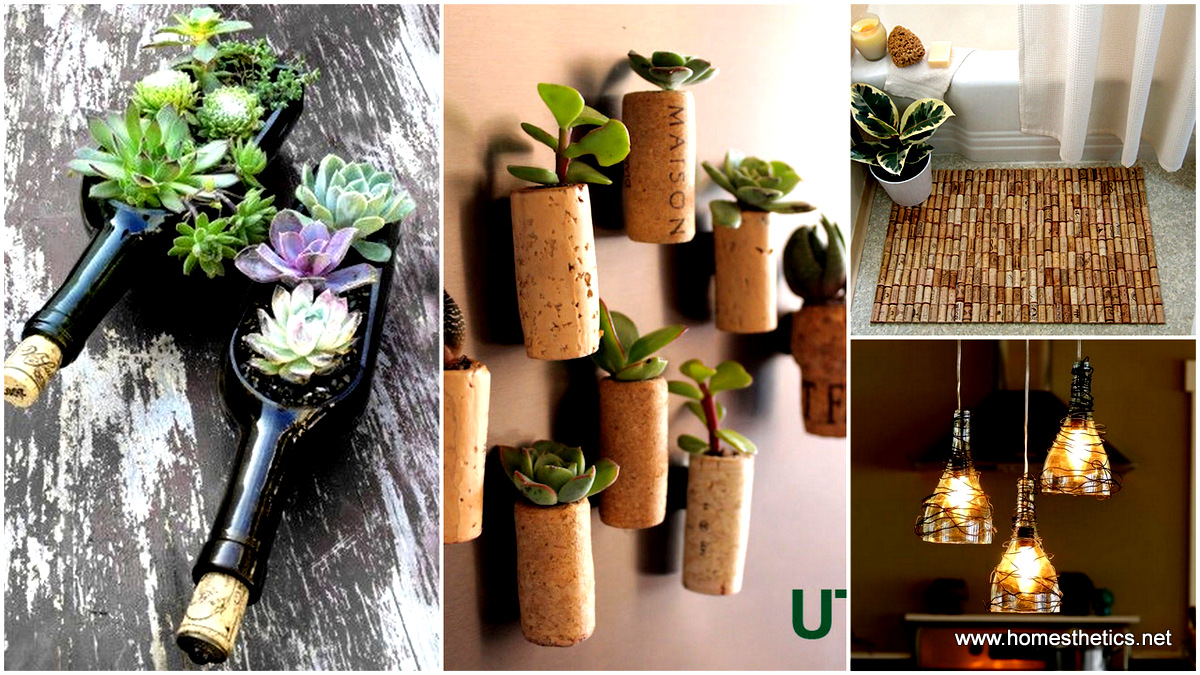 & 40 DIY Ideas on How to Transform Empty Wine Bottles Into Useful Items