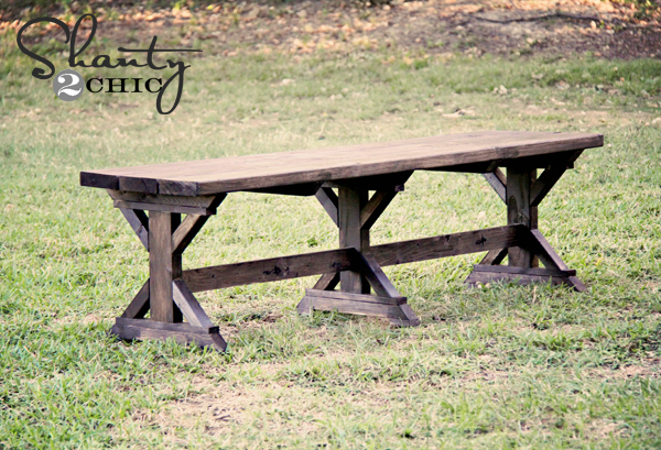 mply Breathtaking 20$ DIY Farmhouse Bench Tutorial That You Will Want to Start Right Away-homesthetics.net (1)