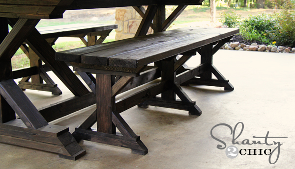 mply Breathtaking 20$ DIY Farmhouse Bench Tutorial That You Will Want to Start Right Away-homesthetics.net (11)