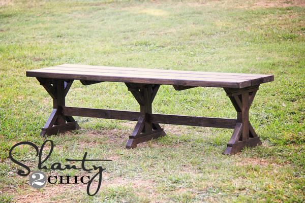 mply Breathtaking 20$ DIY Farmhouse Bench Tutorial That You Will Want to Start Right Away-homesthetics.net (16)