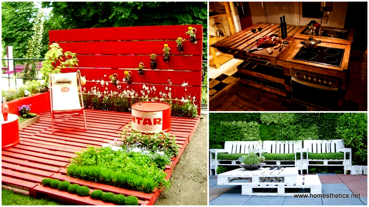 47 Extraordinary Useful Pallet Craft Ideas For A Refreshing Spring