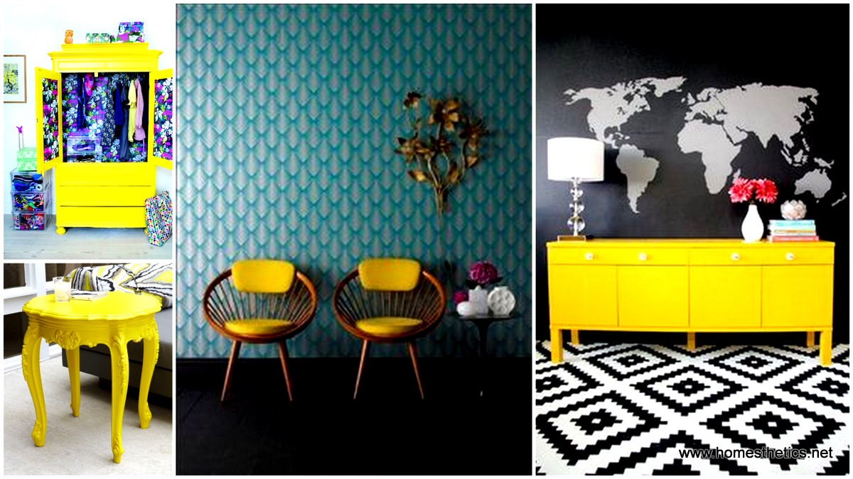 paint your world bright with yellow furniture ideas
