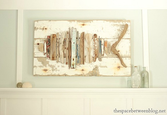 15 Beautiful and Sensible Driftwood Crafts For a Shabby Chic Home homesthetics decor ideas (8)