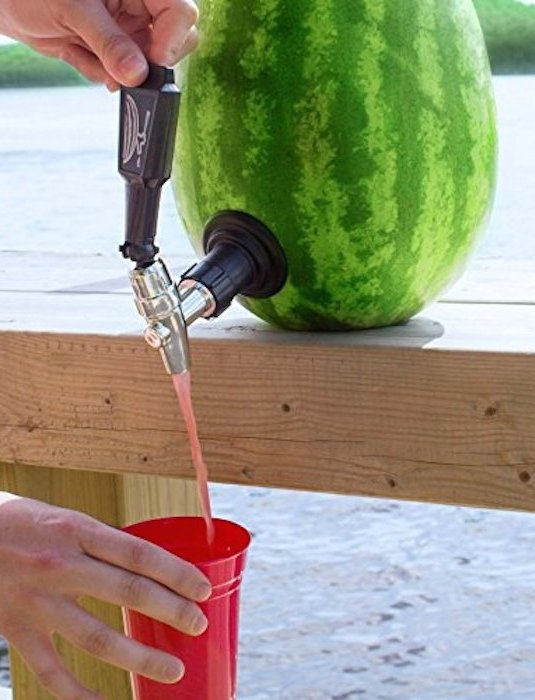 cool awesome summer ever super keg watermelon kit tapping homesthetics light really cocktails bottoms watermelons obtain easier juice flat better