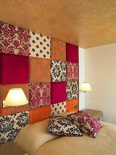 18 Colorful Headboard Designs That Will Beautify Your Bedroom homesthetics decor (1)