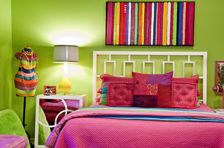 18 Colorful Headboard Designs That Will Beautify Your Bedroom homesthetics decor (10)