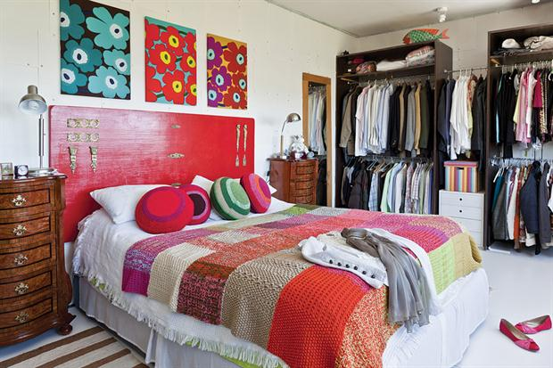 18 Colorful Headboard Designs That Will Beautify Your Bedroom homesthetics decor (17)