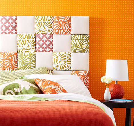 18 Colorful Headboard Designs That Will Beautify Your Bedroom homesthetics  decor (2)