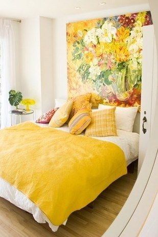 18 Colorful Headboard Designs That Will Beautify Your Bedroom homesthetics decor (8)