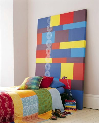 18 Colorful Headboard Designs That Will Beautify Your Bedroom homesthetics decor (9)
