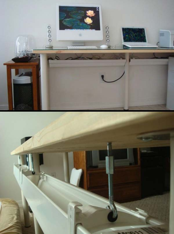 23 Extraordinary Beautiful Ways to Repurpose Rain Gutters in Your Household homesthetics diy projects (23)