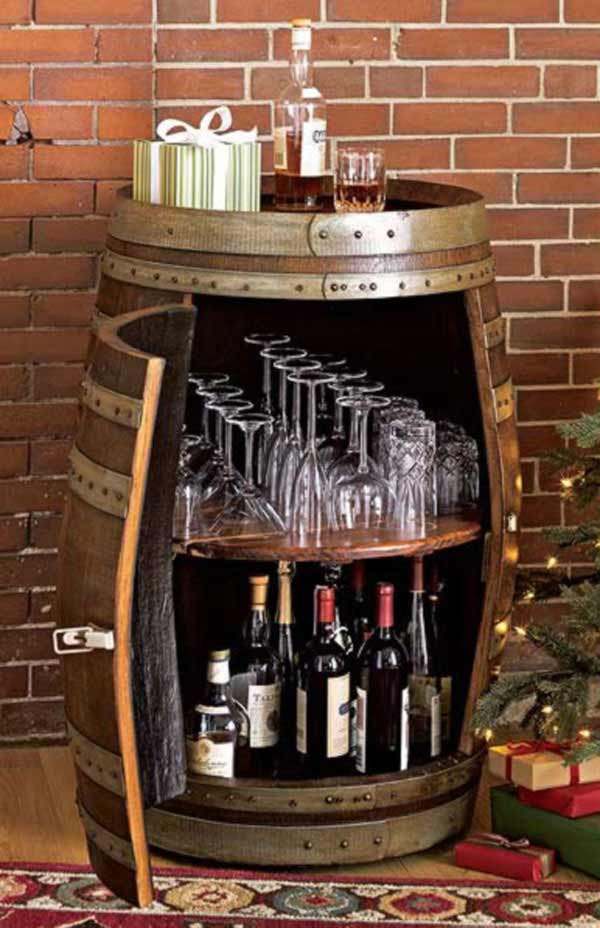 25 Brilliantly Creative DIY Projects Reusing Old Wine Barrels homesthetics decor ideas (13)