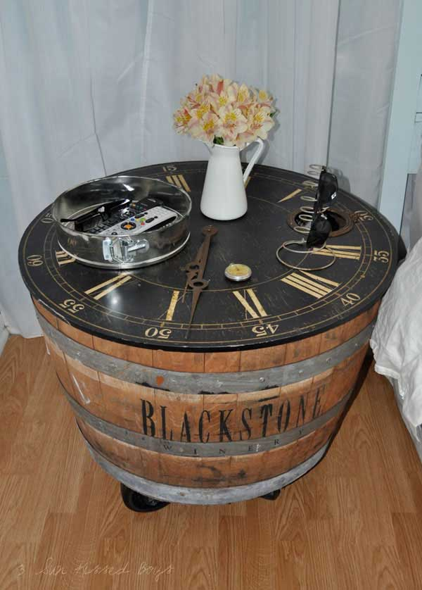 25 Brilliantly Creative DIY Projects Reusing Old Wine Barrels homesthetics decor ideas (14)