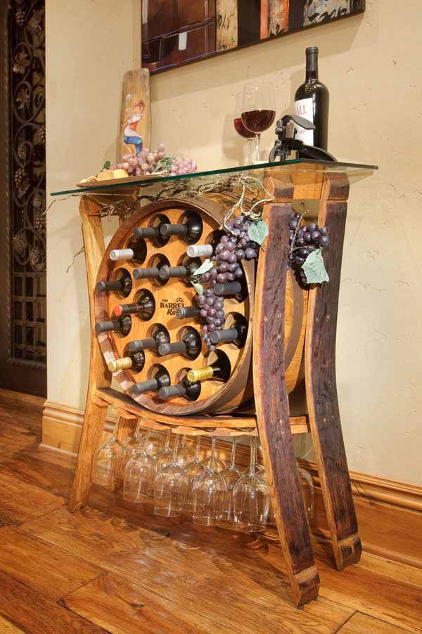 25 Brilliantly Creative DIY Projects Reusing Old Wine Barrels homesthetics decor ideas (15)