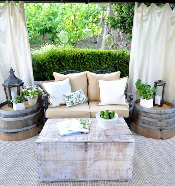 25 Brilliantly Creative DIY Projects Reusing Old Wine Barrels homesthetics decor ideas (19)