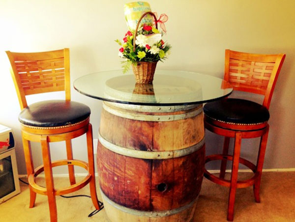 25 Brilliantly Creative DIY Projects Reusing Old Wine Barrels homesthetics decor ideas (21)