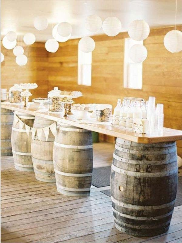 25 Brilliantly Creative DIY Projects Reusing Old Wine Barrels homesthetics decor ideas (24)