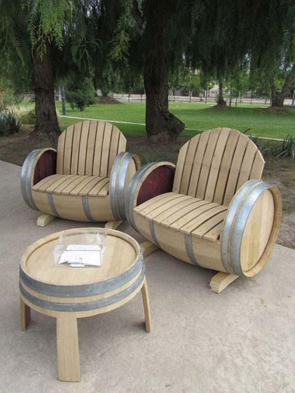 25 Brilliantly Creative DIY Projects Reusing Old Wine Barrels homesthetics decor ideas (25)