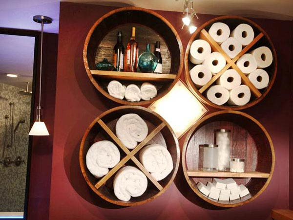 25 Brilliantly Creative DIY Projects Reusing Old Wine Barrels homesthetics decor ideas (5)