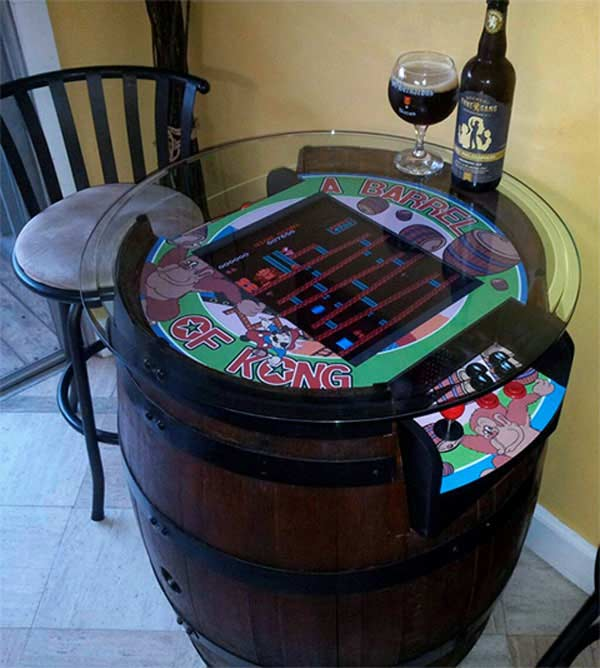 25 Brilliantly Creative DIY Projects Reusing Old Wine Barrels homesthetics decor ideas (8)