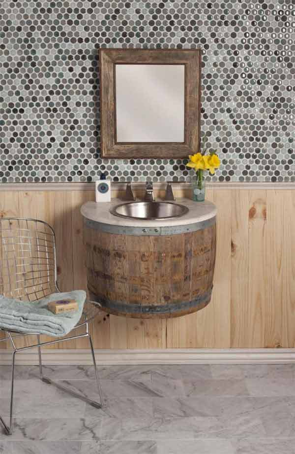 25 Brilliantly Creative DIY Projects Reusing Old Wine Barrels homesthetics decor ideas (9)