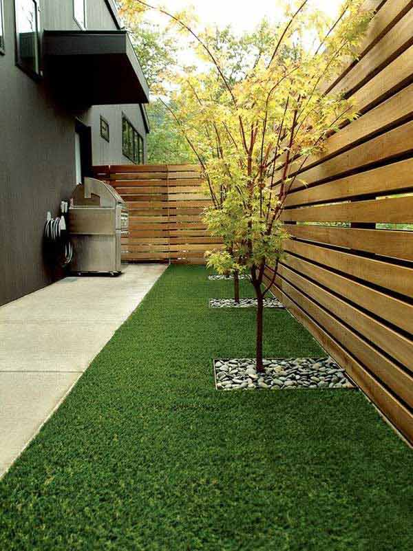 18. BY PLACING THE WOODEN BOARDS HORIZONTALLY YOU CAN OBTAIN A DYNAMIC EFFECT