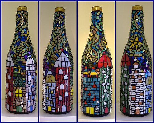 26 Wine Bottle Crafts To Surprise Your Guests Beautifully homeshetics decor (20)