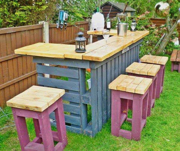 27 Super Cool DIY Reclaimed Wood Projects For Your Backyard Landscape homesthetics decor (15)