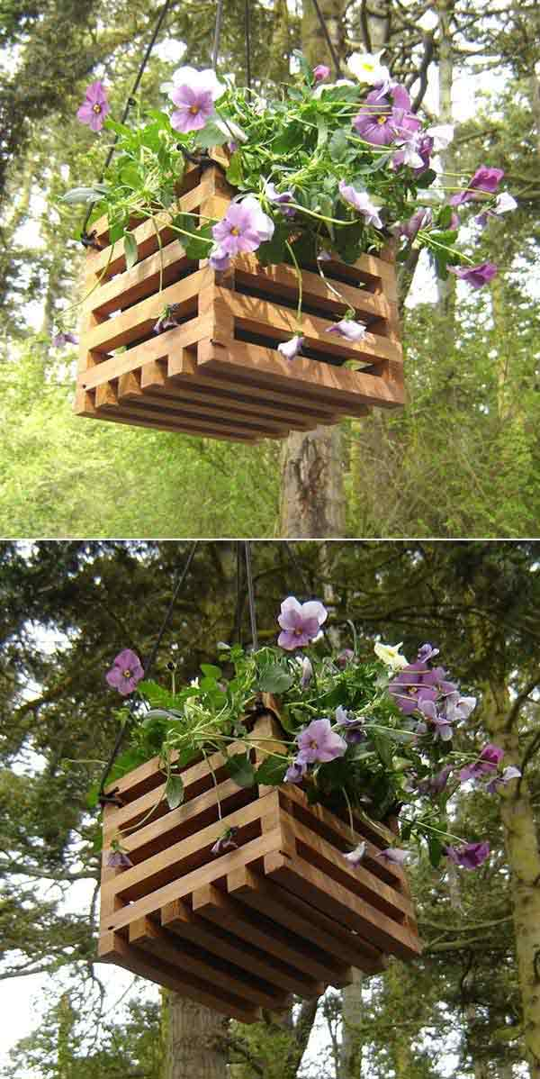 27 Super Cool DIY Reclaimed Wood Projects For Your Backyard Landscape homesthetics decor (24)