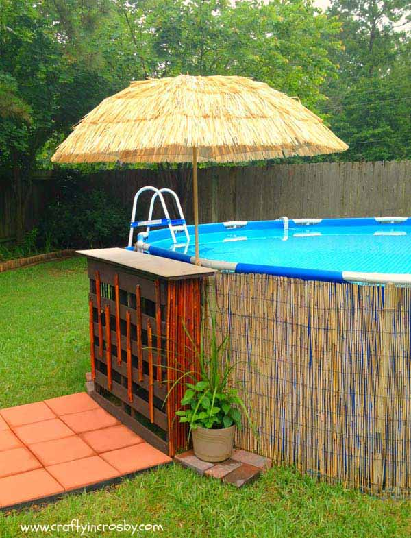 28 Mindbogglingly Alluring Small Backyard Designs Beautified by Swimming Pools homesthetics backyard (10)