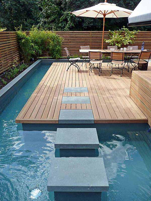 28 Mindbogglingly Alluring Small Backyard Designs Beautified by Swimming Pools homesthetics backyard (14)