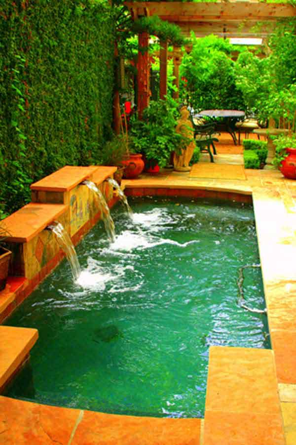 28 Mindbogglingly Alluring Small Backyard Designs Beautified by Swimming Pools homesthetics backyard (26)