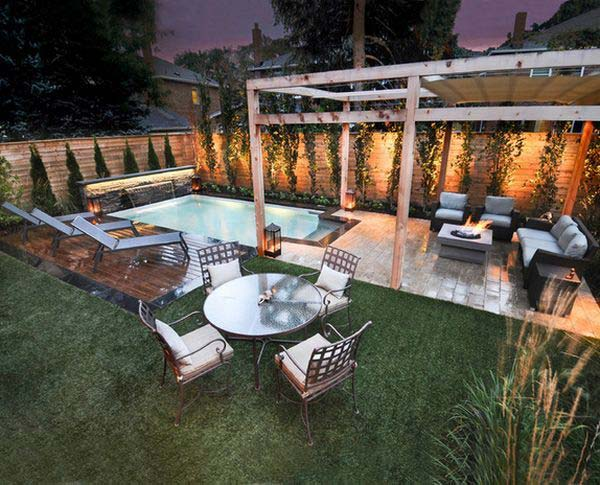 28 Mindbogglingly Alluring Small Backyard Designs Beautified By Swimming Pools Homesthetics 3