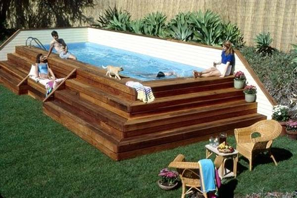 28 Mindbogglingly Alluring Small Backyard Designs Beautified by Swimming Pools homesthetics backyard (7)