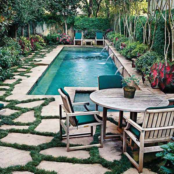 28 Mindbogglingly Alluring Small Backyard Designs Beautified by Swimming Pools homesthetics backyard (9)