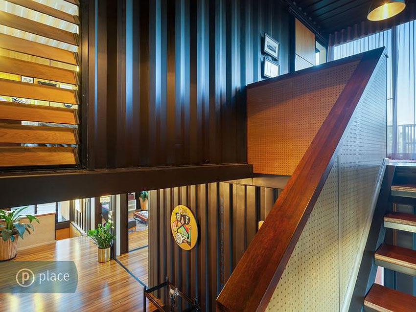 31 Containers Into One Shattering Beautiful Shipping Container Homes by Zeigler Build homesthetics decor (17)