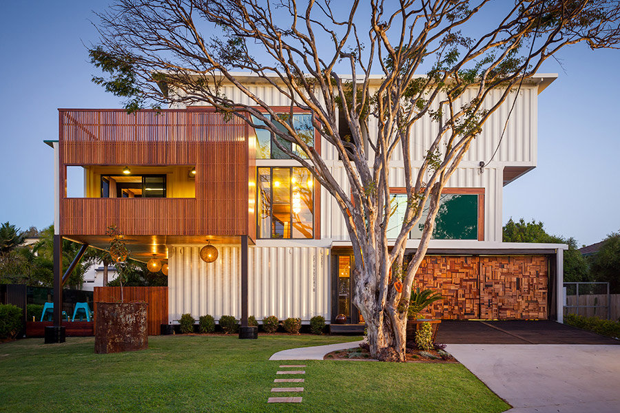 31 Containers Into One Shattering Beautiful Shipping Container Homes by Zeigler Build homesthetics decor (2)