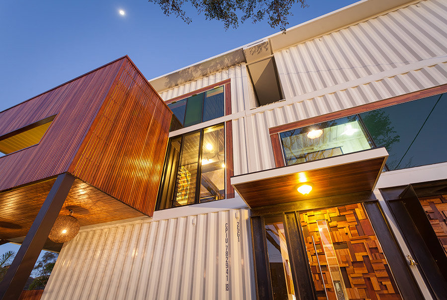 31 Containers Into One Shattering Beautiful Shipping Container Homes by Zeigler Build homesthetics decor (5)