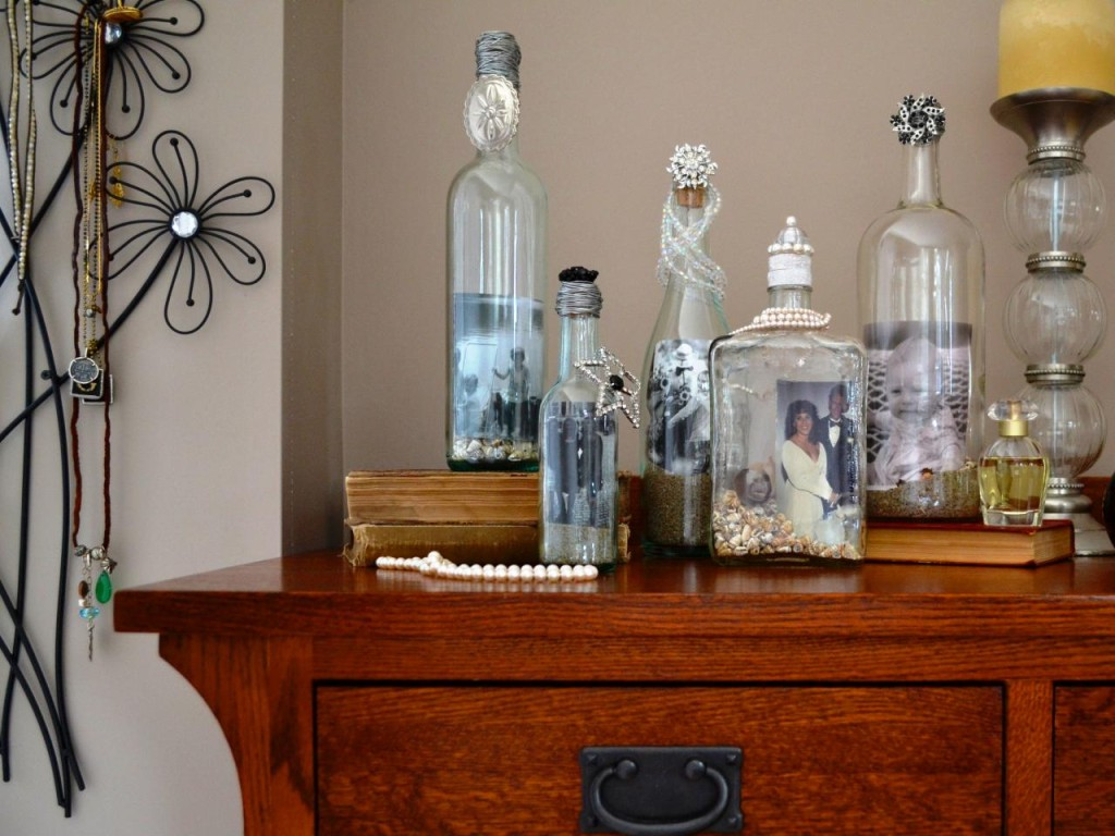 Decorate your home with wine bottle crafts -homesthetics (1)