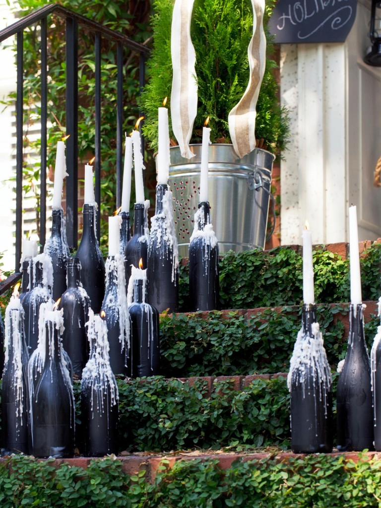 Decorate your home with wine bottle crafts -homesthetics (3)