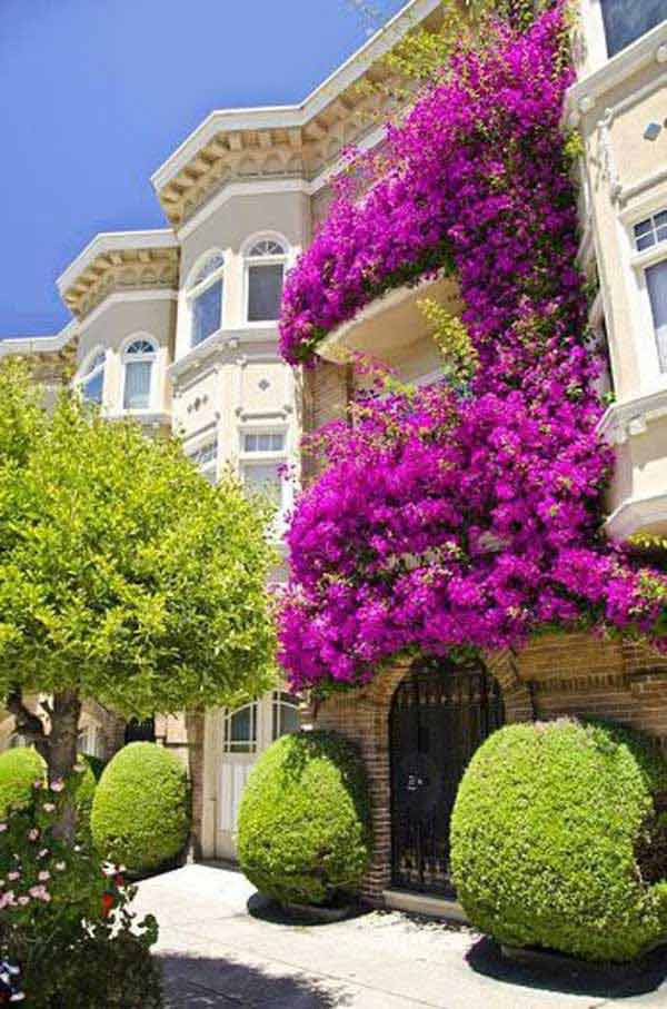 Inspiration Pack Containing 23 of the World`s Most Beautifully Flowered Balcony Gardens homesthetics decor ideas (14)