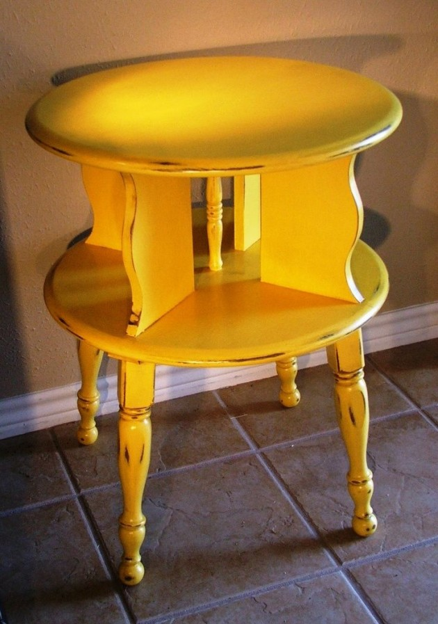 #22 Small Side Table With Storage