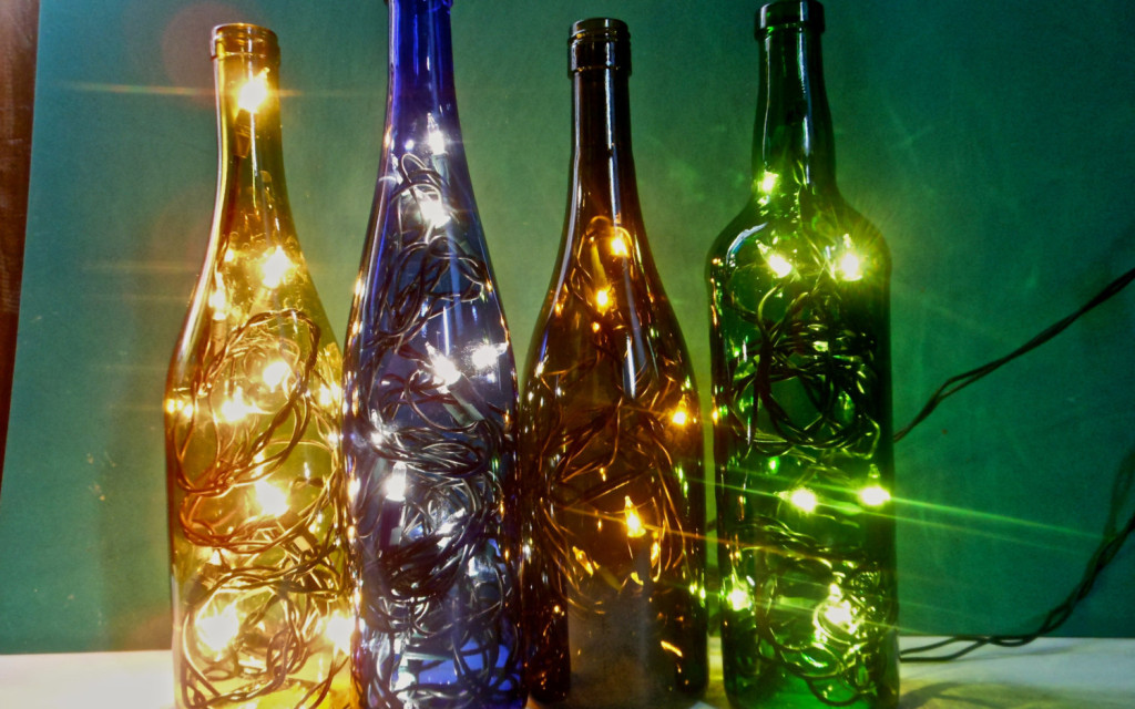 19 Of The Worlds Most Beautiful Wine Bottle Crafts